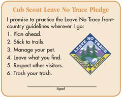 photo regarding Leave No Trace Printable named Training LNT