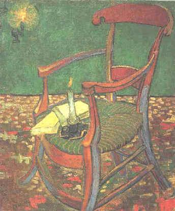 ... van Gogh. Gauguinu0027s Chair  sc 1 th 246 & van Goghu0027s paintings of his and Gauguinu0027s chairs