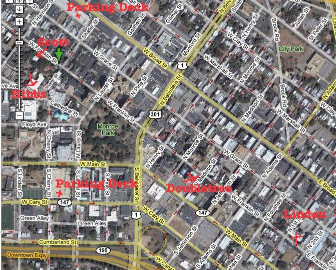 Vcu Campus Map