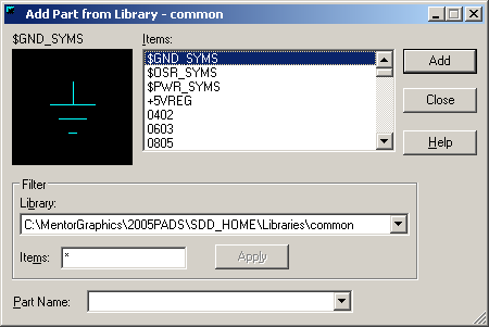pads logic library download