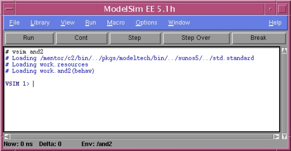 VHDL Compilation and Simulation with ModelSim